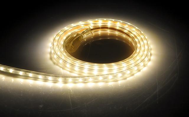 světelný pásek